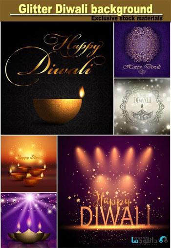 Glitter-Diwali-celebration-background