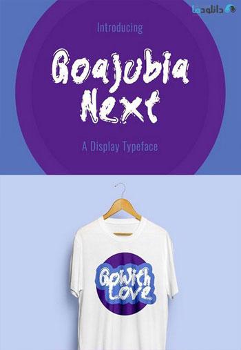 Goajubia-Next-Typeface