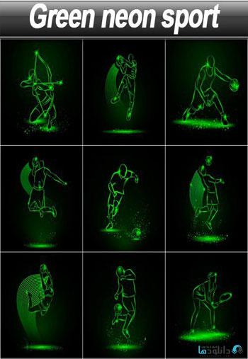Green-neon-sport