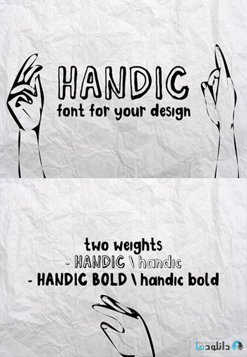 HANDIC-FONT