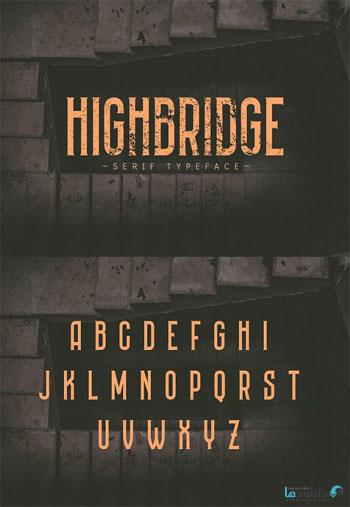HIGHBRIDGE-font