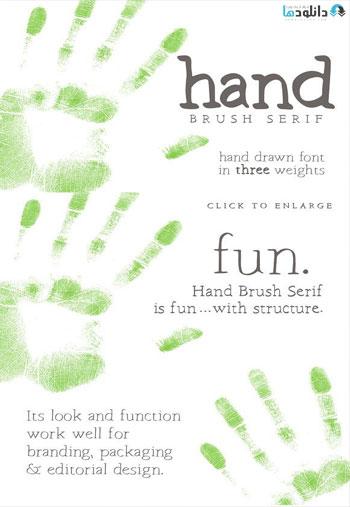 Hand-Brush-Serif