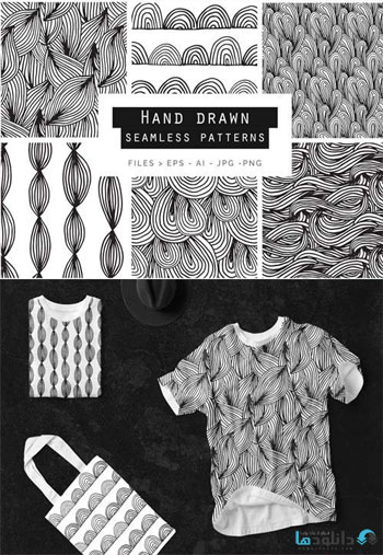 Hand-Drawn-Doodle-Patterns