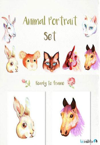 Handmade-animal-portraits