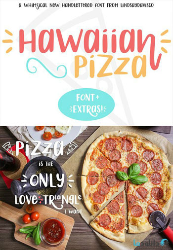 Hawaiian-Pizza-Font