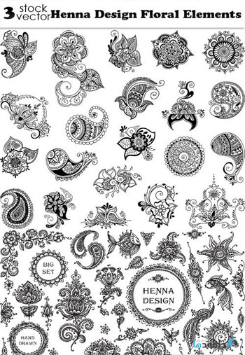Henna-Design-Floral-Element