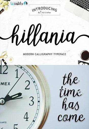 Hillania-Script-Font