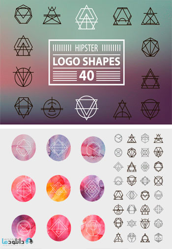 Hipster-Logo-Shapes-Bundle