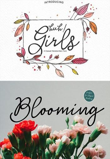 Huh!-Girls-Script-Font