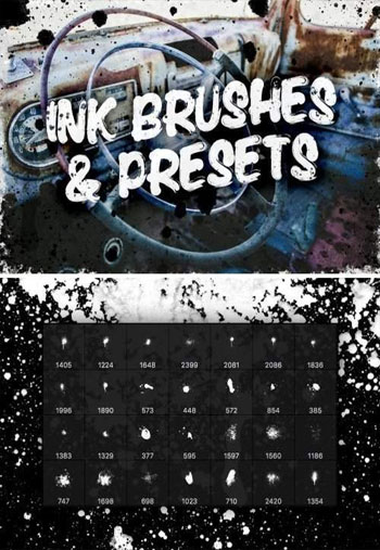 Ink-Brushes-and-Presets