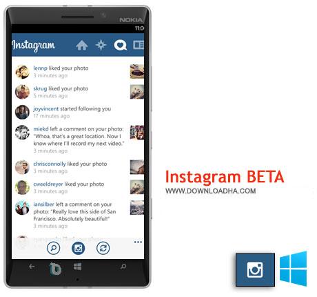 как создать инстаграм бета