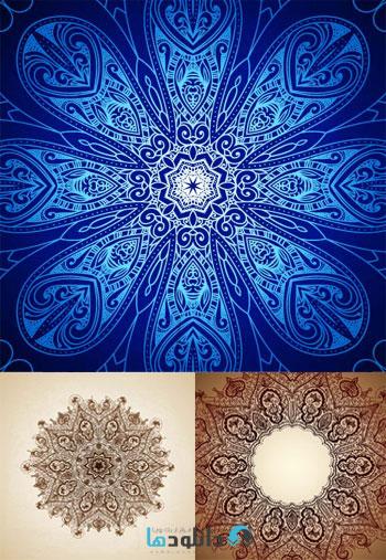 Islamic.Vector.Designs.SET   دانلود تصاویر وکتور  Islamic Vector Designs Set