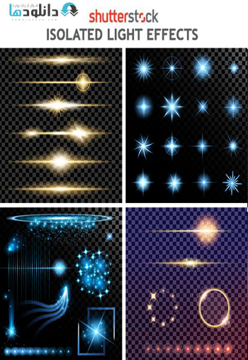Isolated-Light-Effects-Vector