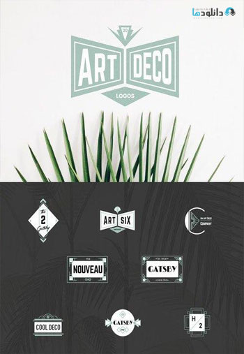 Art-Deco-Logos