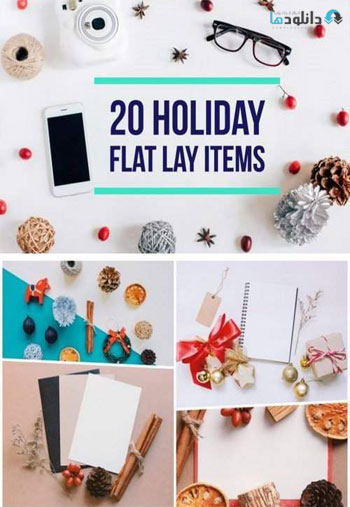 Holiday-flat-lay-items