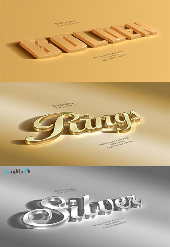 3D-Golden-&-Silver-Layer