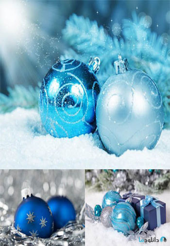 Blue-Christmas-Decorations