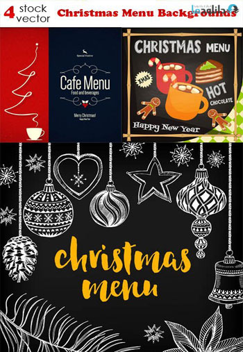 Christmas-Menu-Backgrounds