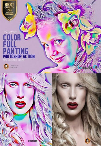 Color-Full-Panting-Action