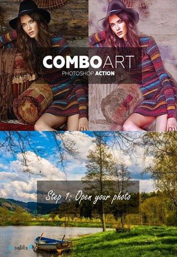 ComboArt-Photoshop-Action