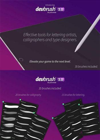 DevBrush-3,0-for-Procreate