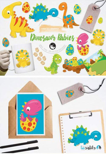 Dinosaur-Babies-Graphics-and-Illustrations