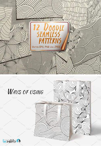 Doodle-Seamless-Patterns