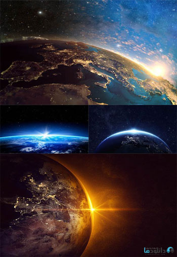 Earth-from-Space-Set