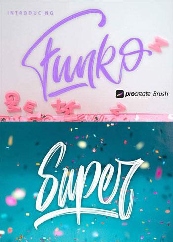 Funko-Procreate-Brush