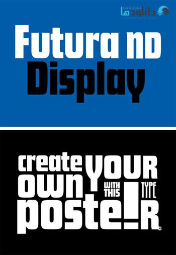 Futura-ND-Display-Font