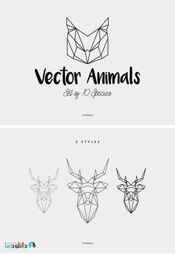 Geometric-Vector-Animals
