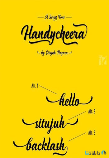 Handycheera-Font