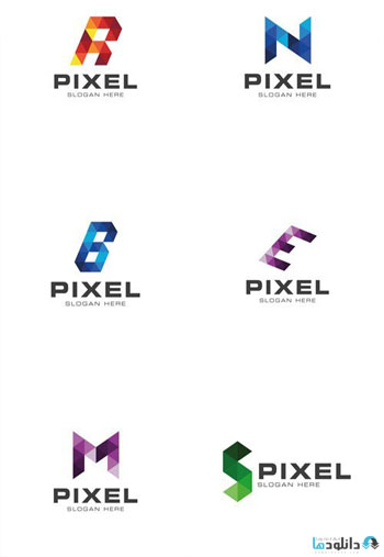 Modern-Pixelated-Logo-Template