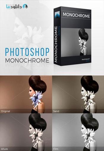 Monochrome-Photoshop-action