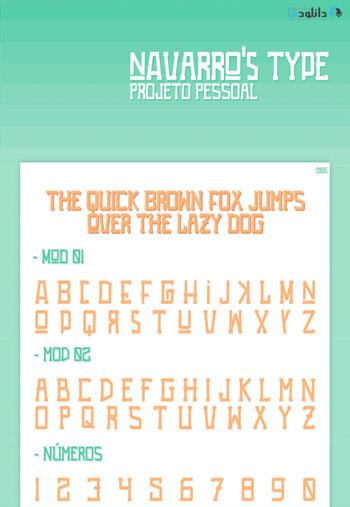 Navarro's-Type-Font