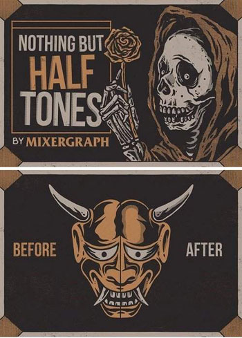 Nothing-but-Halftones