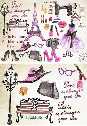 Paris-Fashion-Clipart