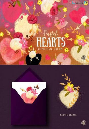 Pastel-Hearts