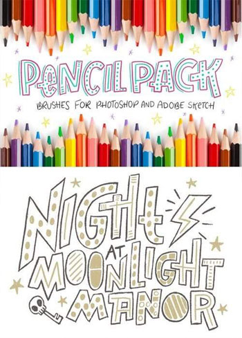 Pencil-Pack-PS-Brushes