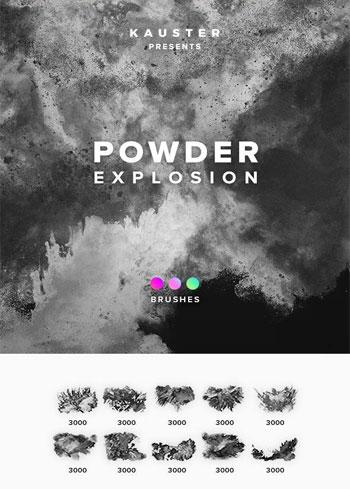Powder-Explosion-Brushes