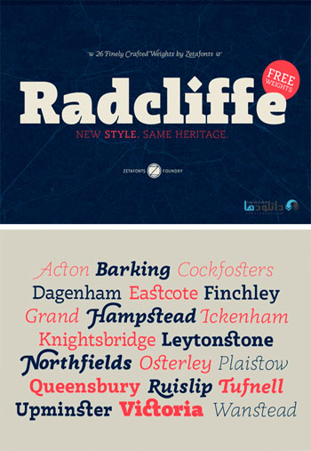 Radcliffe-Font-Family