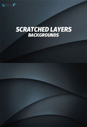 Scratched-Flat-Layers-Background
