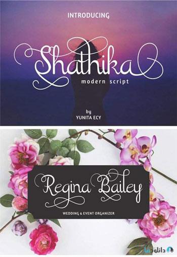 Shathika-Script-Font