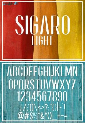 Sigaro-Light-Font