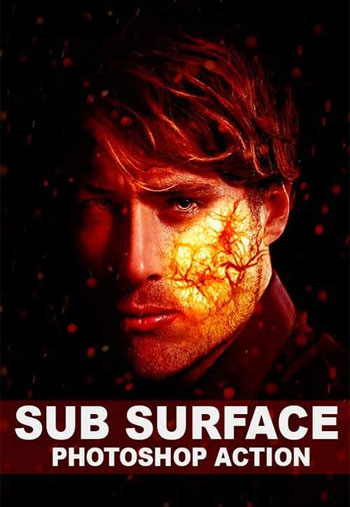 Sub-Surface-Photoshop-Action