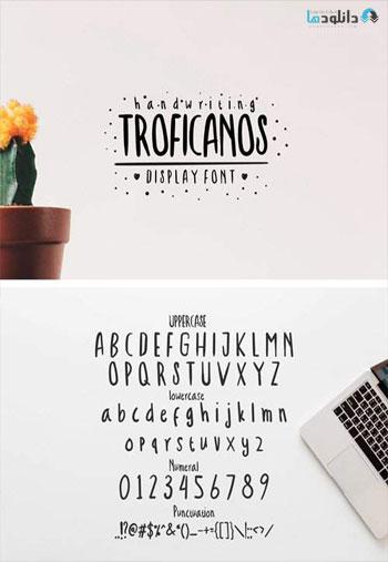 Troficanos-Handwriting