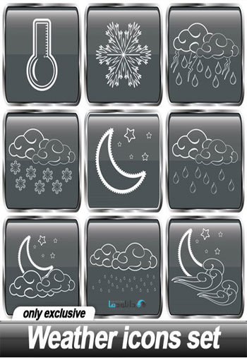 Weather-icons-set