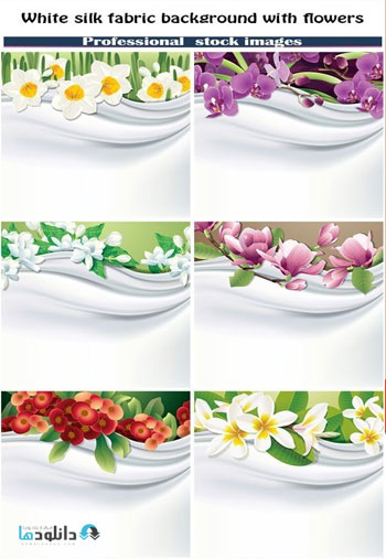 White-silk-fabric-background-with-flowers