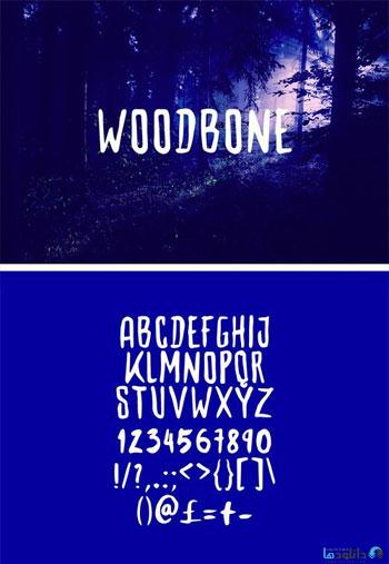 Woodbone-Font