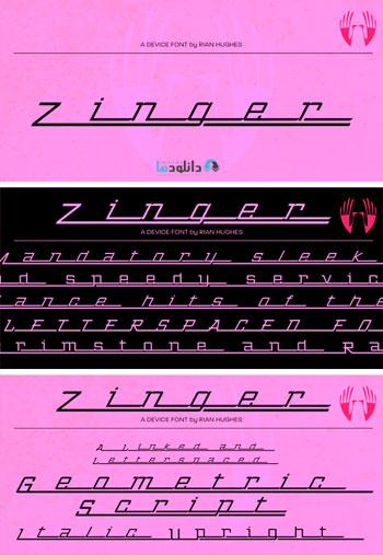 Zinger-Font-Family